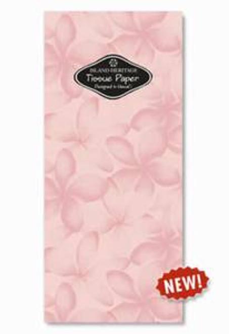 Plumeria Tropical Flowers Folded Tissue Paper Wrap  - 20531000