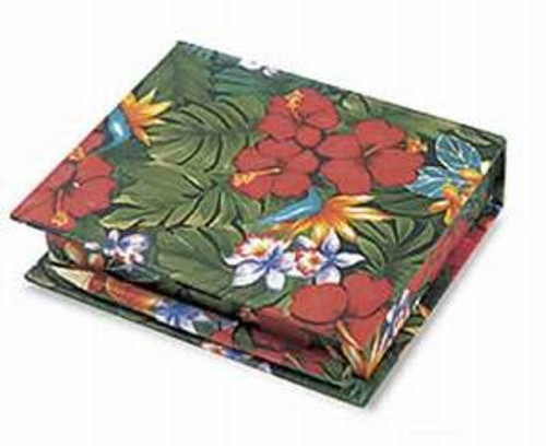 Lush Tropical Boxed Memo Papers with Pencil - 27525000