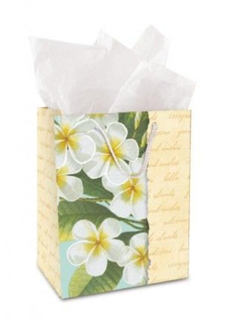 Plumeria Notes Gift Bag  Medium - 30026002