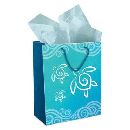 Sea Turtle Honu Swirl Gift Bag  Medium - 30140002
