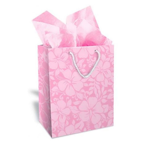 Lush Hibiscus Pink Gift Bag Medium 30141002