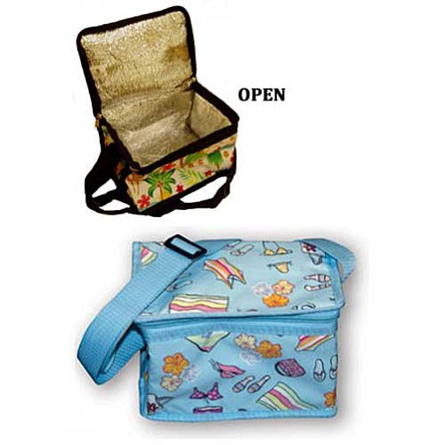 Sunny Beach Day Blue Lunch Box Cooler 40481000