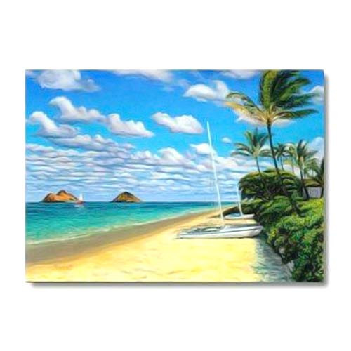 Sandy Beach Greeting Card 66900001