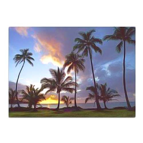 Sunset Greeting Card 67540001
