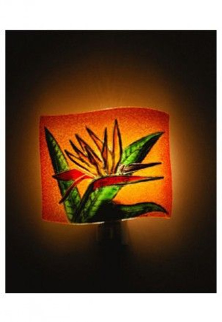Bird of Paradise Glass Night Light - 93201000