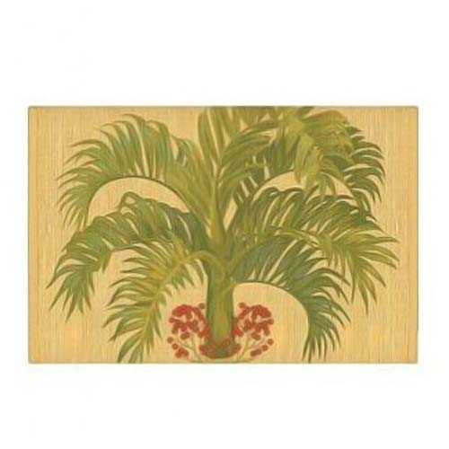 Tropical Palm Bamboo Placemat 1892513000