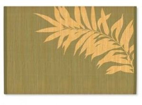 Bamboo Swaying Palms Painted Placemat - 1892512000