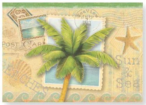 Boxed Note Cards Sun & Sand 12 Per Box 08-242