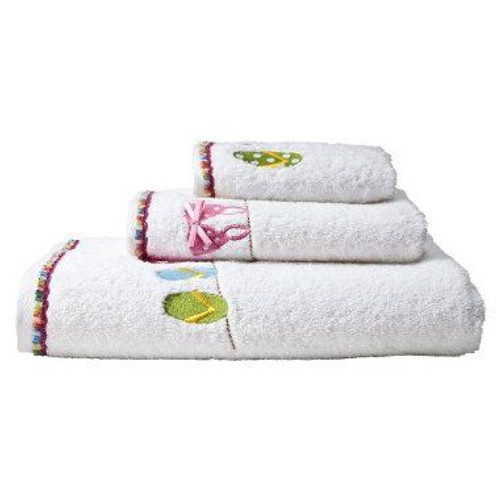 "Flip Flops ""Hanging Loose"" 3 Piece Towel Set - 12580SET"