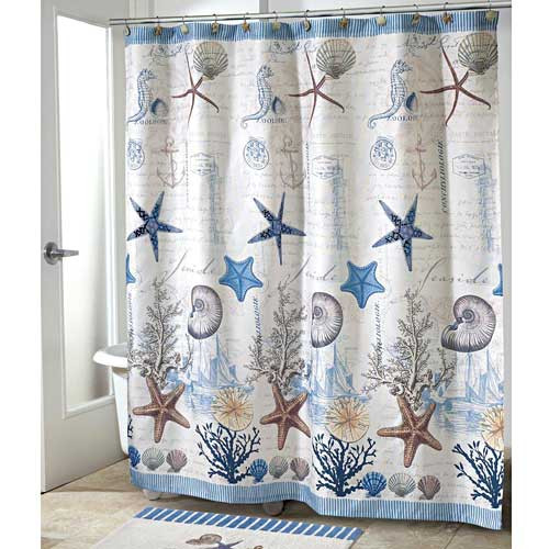 Sea Shells Antigua SHOWER CURTAIN 13571H