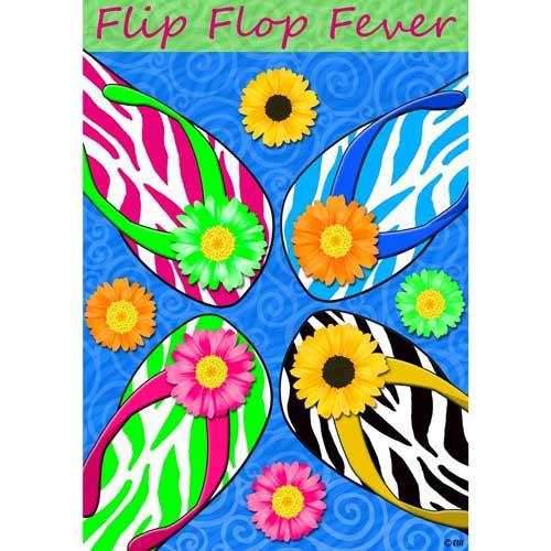 Flip Flop Fever Garden Flag 1583FM