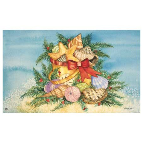 Holiday Shells Floor Mat 16526D
