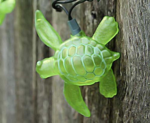 Sea Turtle String Lights 8.5' Long Strand 25255G