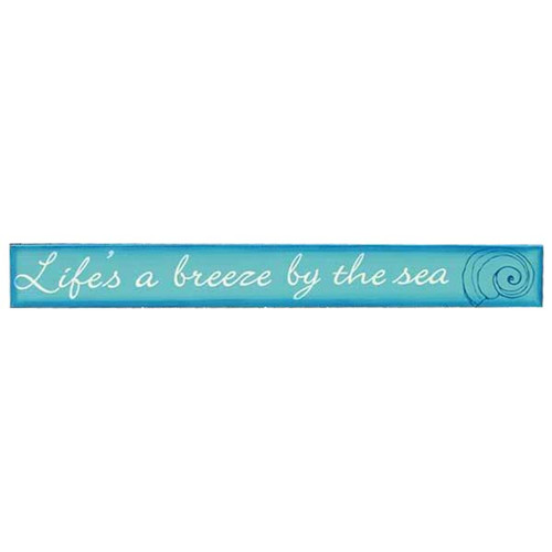 Breeze by the Sea Wood Sign 25491F