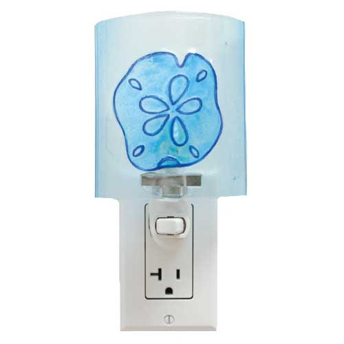 Sand Dollar Glass Shell Nightlight 25524S