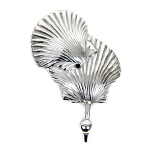 Sea Shell Decorative Metal Wall Hook 25762SHELL
