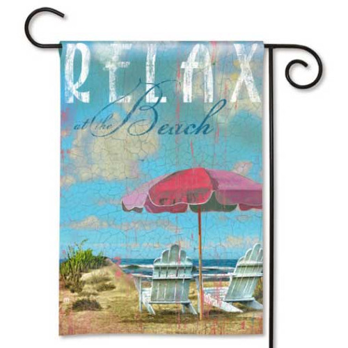 Relax at the Beach Garden Flag 32336D