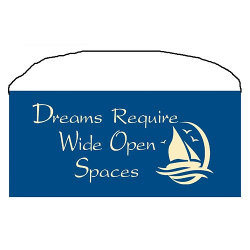 "Beach Wood Sign ""Dreams"" 35085"