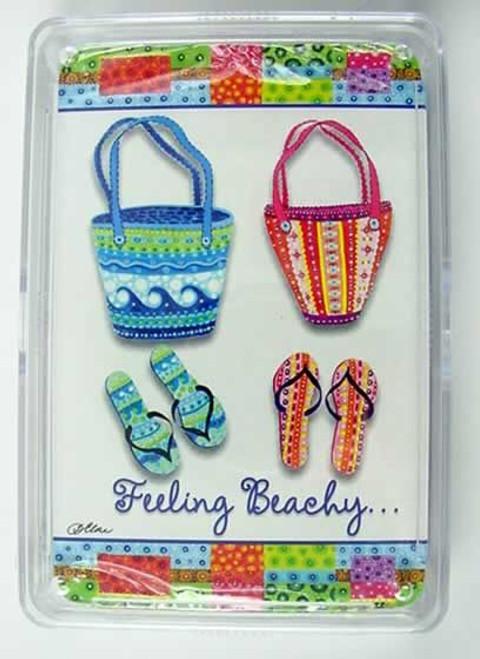 "Flip Flops Playing Cards ""Feeling Beachy"" - 36-205"