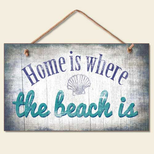 Home Is Where The Beach Is - Wood Sign 41-839