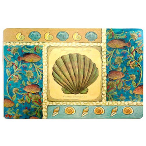 Pacific Beach Sea Fish Placemat 42789