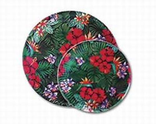 "Lush Tropical Paper Plates 10 1/2""   - 47207-000"