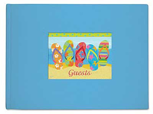 Flip Flop Parade Theme Guest Book 49-171