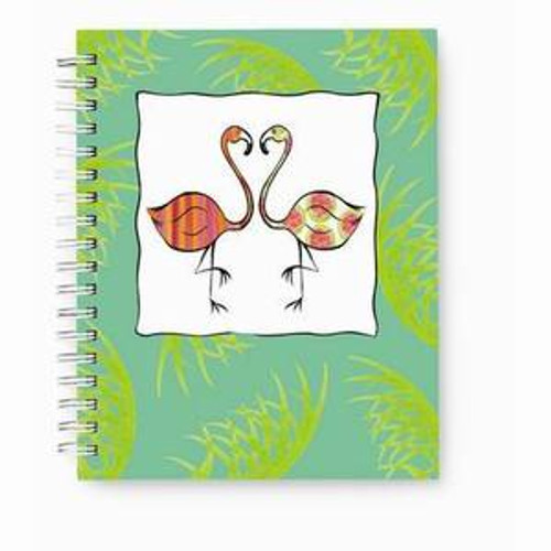 Pink Flamingo Duo Journal Notebook  - 52-067