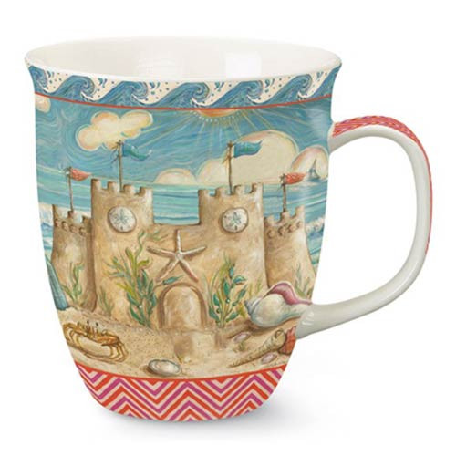 Harbor Ceramic Mug Sandcastle 718-10