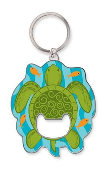 Sea Turtle Key Ring Key Chain Bottle Opener - 805-82