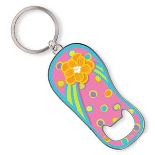 Flip Flop Key Ring Key Chain Bottle Opener - 805-83