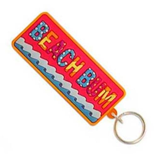 Beach Bum Keyring Keychain 805-93