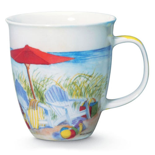 Beach Chair Ceramic Coffee Mug 818-49