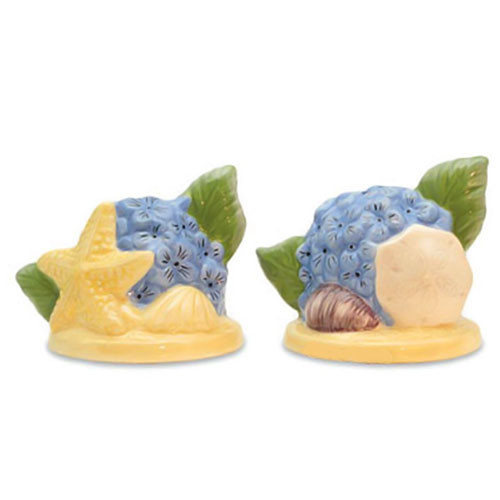 Seashell Flower Salt & Pepper Shakers 820-37