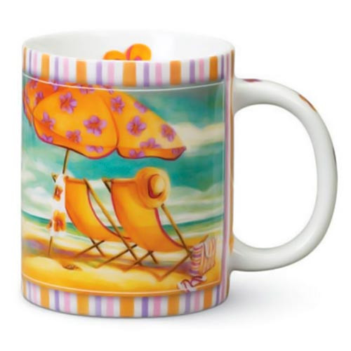 Day at the Beach Coffee Mug 823-86
