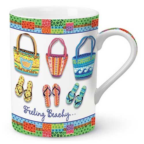 Feeling Beachy Flip Flop Coffee Mug 825-02