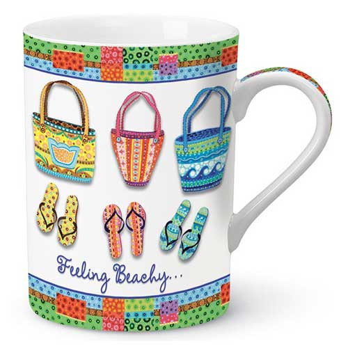 Feeling Beachy Flip Flop Coffee Mug 825-02