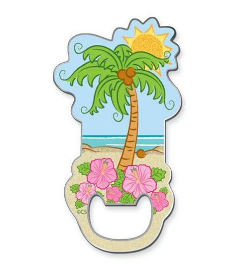 Palm Tree Magnetic Bottle Opener - 829-65