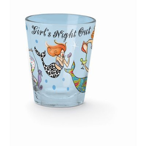 "Mermaids Shot Glass""Girls Night Out"" - 839-15"