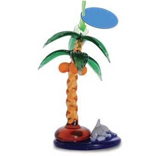 Glass Ornament Palm Tree 859-13