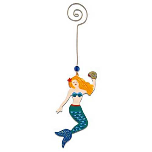 Handcrafted Metal Ornament Sea Sisters Mermaid 871-65