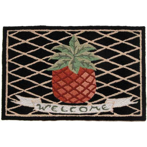 Pineapple Welcome Mat - Floor Rug - JB-VW002