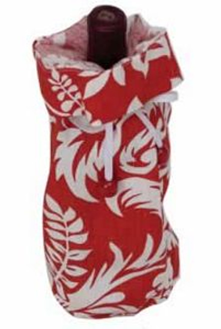 "Tropical ""Felicia"" Cloth Wine Bottle Bag - L93U3604"