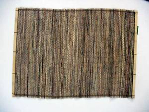 Bamboo Open Weave Placemat - Dark Brown - Set of 2 - 9521