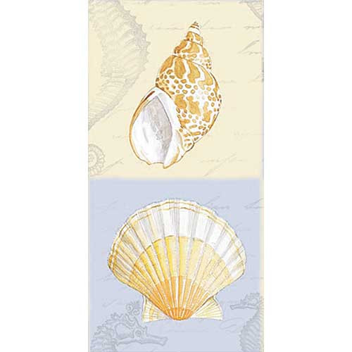 Sea Shell Design Tissues Pack of 10 PT443440
