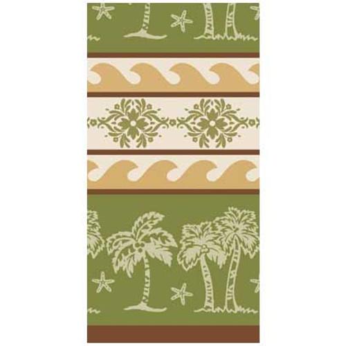 Palm Trees Jacquard Tea Towel R2092