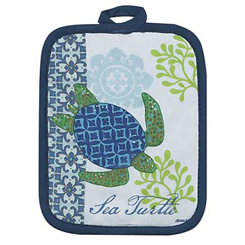 Sea Turtle  Pot Holder Hot Pad - R2502