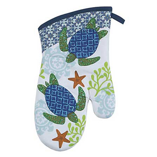 Sea Turtle Oven Mitt  -  R2505