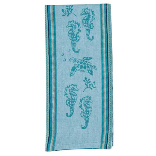 Sea Life Printed Woven Tea Towel R2810