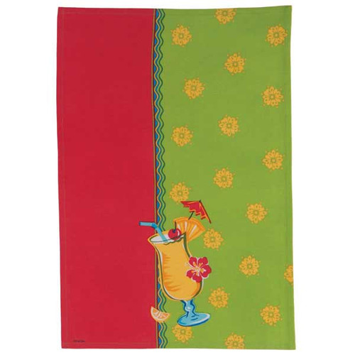 Pina Colada Cotton Tea Towel R2838